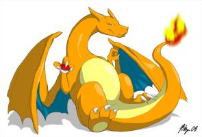 My Charizard by btzai