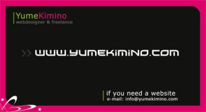 Business Card ID by YumeKimino