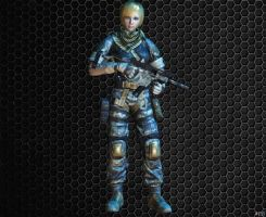 Allied Forces Girl [ARCTIC COMBAT] by Goreface13