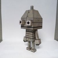 Machinarium Papercraft by ceemdee