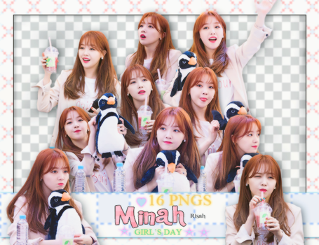 [ PACK RENDER #19 ] 16 PNGS MINAH - GIRL'S DAY by Risahhh