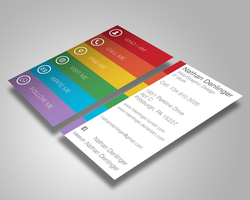 Business Card redesign by ndenlinger