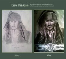 Captain Jack Sparrow by jdeppfan