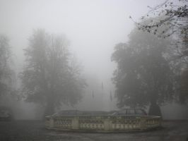 Chateau de Namur on a misty October morning 5 by Randist