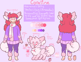 Coraline (Shiny) Ref Sheet by pupom