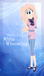 .:Happy B-Day,Mirta Whoowlms:. by Sonnatora