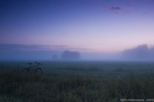 The Lost Cyclist by Gilgond