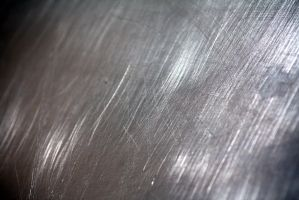 scratched aluminum texture 3 by beckas