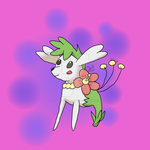 Shabebe (Shaymin and Flabebe) by votederpycausemufins