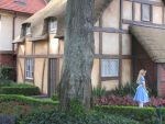 Alice in Epcot by sbk1234