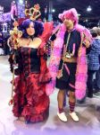 Anime Central 2014: Vivaldi and Boris by GoodDokCosplay