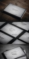 Grunge Business Card by vitalyvelygo