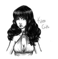 Character Desing: Karen Gotto for Bottoming by TifaVII