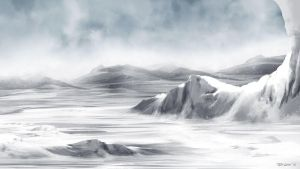 Whiteout - background by TedKimArt