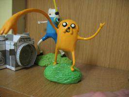 Jake the dog by daftchocolate
