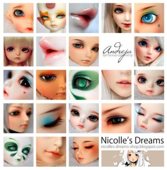 Nicolle's Dreams collage by AndrejA