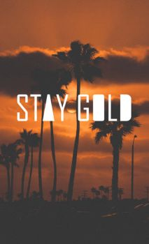 Stay Gold by convict123