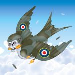 Swallow Spitfire by miles-tebbutt