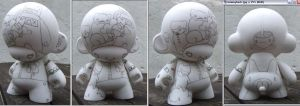 one for the munny by thehermitdesign