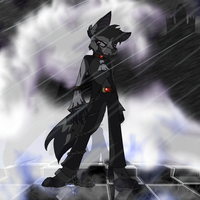 Anthro rainy castle dude by LordSameth