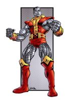 Colossus in color by jharris