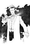12-2013 The 11th Doctor by Hodges-Art