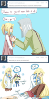 Tumblr Ask: Nefis and Sam 3 by Yamineftis