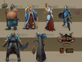 Character Concepts 1 by Bullettrainstudios