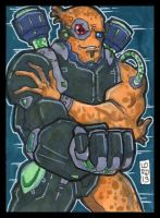 Sketch Card-A-Day 2013: 013 by lordmesa