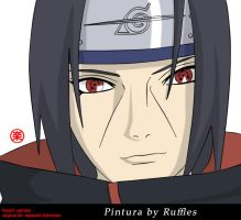 Itachi Smile by rafflesbr