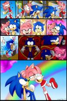 We are in love Sonic version by Sayamiyazaki