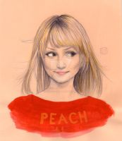 Peach by barbara-liana
