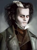 Sweeney Todd/ Johnny Depp by Sunysundae