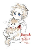 Denmark with the cat by inpninqni