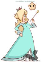 Super Princess Rosalina by ChibiDanyz