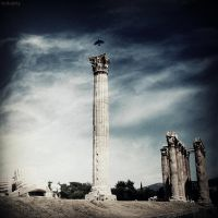 Temple of Zeus by lostknightkg