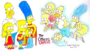 The Simpsons : The Others by komi114