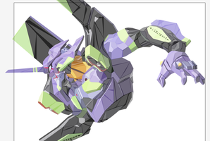 Making Eva01-B by Tornaku