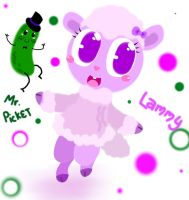 Lammy n Mr.Picket by emily-the-wolf