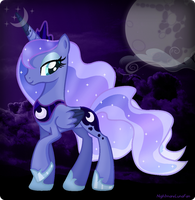 The Night's Luna by NightmareLunaFan