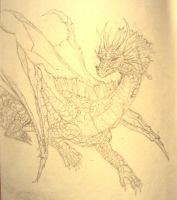 water dragon 4 dipterous by Talonsword