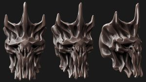 Skull Helm by panick