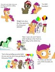 The many HOO's of Scootaloo by DJNeonGlow