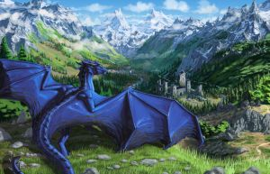 Commission: Of-The-Wilds by firebirddrake