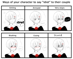 Idiot meme by Saawaa