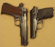 Star Super B and Makarov pistol by UkraineTrain