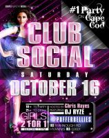 Club Social Flyer 4 by AnotherBcreation