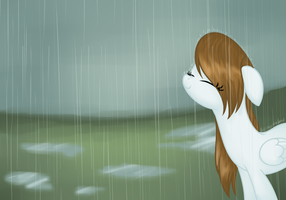Draw This Again - Rainy Days by Azure-Art-Wave
