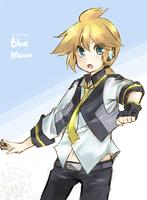 Shota!Blue Moon by JuiceBox-Tea