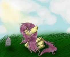 Fluttershy is sad by PotensCogitari